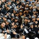 Ending 45 years of futility, the Los Angeles Kings hoisted the franchise's first Stanley Cup, defeating the New Jersey Devils 6-1 in Game 6 to win the series, four games to two. In their second Finals appearance, the Kings made history as the first to win the championship as a No. 8 seed.
