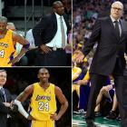 Having assembled a superstar lineup in the offseason, Lakers owner Jerry Buss was not happy with his team's 1-4 start. Head coach Mike Brown was abruptly fired, leading many to believe that coaching legend Phil Jackson was waiting in the wings, ready to return to Los Angeles. The organization talked with Jackson, and Jackson said he thought he had until Nov. 12 to give his answer. Instead, Jackson was woken up late at night on Nov. 11 and told that Mike D'Antoni had been hired. It was a move that surprised everyone, including D'Antoni himself.