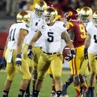 For much of the past decade, Notre Dame had become one of the laughing stalks of college football. It was a historic program that seemed to have faded from relevance (losing nine out of their past 10 meetings with USC did not help). But then 2012 rolled around and the Fighting Irish were unstoppable. A key goal-line stand helped Notre Dame defeat Stanford in overtime. And when it came time to face the Trojans with a BCS Championship berth at stake, the Irish won. Next up: Alabama.