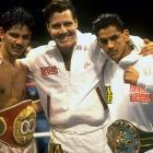 Gabriel Ruelas  (right): WBC Super Featherweight, 9/94-12/95   Rafael Ruelas  (left): IBF Lightweight, 2/94-5/95