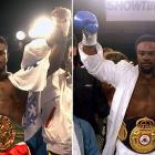 Terry Norris  (left): WBC Light Middleweight, 3/90-12/93, 5/94-11/94, 8/95-3/97 IBF Light Middleweight, 12/95-3/97   Orlin Norris  (right): WBA Cruiserweight, 11/93-7/95