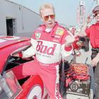 Ricky Craven climbs into his car before Wednesday practice in 1997. Craven finished third in the '97 race.