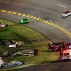 Johnson and David Ragan were treated and released from the medical center, but both would not return to the race.