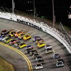 The 43-car field started the race at 7:14 at Daytona International Speedway.