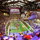 Fun Fact: Lucas Oil Stadium, site of Super Bowl XLVI in Indianapolis, was actually built by Mr. Alano entirely out of Legos. He spent three years and used over 30,000 pieces.