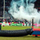 Despite efforts to warm the pitch at State de France, the match between France and Ireland was called off just before kickoff. Perhaps the match should have been used to light a fire and warm the pitch.