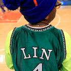 At New York's famed Madison Square Garden, the famed film director showed his support for a young basketball player who is now the most famous person on the planet.