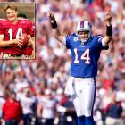 The Bills quarterback struggled after signing a big contract in October 2011, playing poorly during Buffalo's brutal 1-8 finish to the season. He had no such troubles at Harvard, leading the Crimson to a 10-0 record during his 2004 senior season.