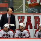 The longtime Boston Bruin scored 150 goals and had 197 assists during his 14-year NHL career. The 1989 NCAA tournament MVP has served as Harvard's head coach since 2004.