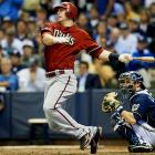 In 156 at-bats last year, Goldschmidt hit eight homers and nine doubles, drove in 26 runs, and posted an impressive .224 ISO (slugging minus batting average). In 1,178 minor league at-bats from ages 21 through 23, he blasted 83 homers and slugged .620 with a 1.026 OPS. First base is deceptively shallow this year, with the top six first basemen likely to be gone by the 25th or 30th overall pick. If you miss out on those guys, let me offer you Goldschmidt, who is coming off the board about 120 picks later, a full 10 rounds in a 12-team league. He plays in a very hitter-friendly park, especially for right-handed hitters, making him a bargain play among first basemen.