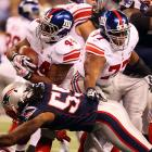 Ahmad Bradshaw led the Giants with 72 yards rushing and scored the game-winning touchdown.