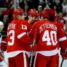 On March 26, 2012, the Red Wings broke their own NHL record, set from 1939-58, by qualifying for the postseason for the 21st consecutive year. It's the longest current streak in the four major professional sports leagues. The NBA's San Antonio Spurs are their closest pursuers, at 15 straight. In the NHL, the San Jose Sharks are trying to keep their seven-year run alive. Here's a look at some of hockey's most significant team streaks.