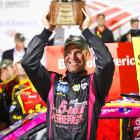 In a race where it was who could play the fuel-mileage game and not who had the fastest car, Clint Bowyer picked up his third win of the year. He grabbed the lead with 30 laps to go and moved up to fourth in the points standings as drivers hit the midway point in the Chase.
