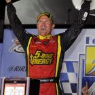 Clint Bowyer won the rain-delayed race at Richmond, and Jeff Gordon drove his way into the title picture by grabbing the last wild-card berth in the Chase for the Sprint Cup championship. He rallied from a mid-race spin to pick up his second win of the season. The night also belonged to Gordon, who struggled most of the race but pulled off a big-time rally to beat Kyle Busch by three points for the final spot in the 12-driver Chase field.