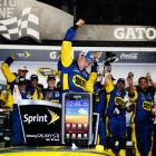 After storms delayed the race to Monday for the first time in Daytona history, Matt Kenseth outlasted the field to win his second Daytona 500 despite fuel and radio issues. The race featured several crashes, including one of the most bizarre wrecks in NASCAR history. Juan Pablo Montoya crashed into a jet dryer, causing a massive fire on the track along with a two-hour delay. Once the race was resumed, Kenseth held off Dale Earnhardt Jr. for the victory.