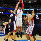 Ohio State locked in its third-straight trip to the Sweet 16 with its 73-66 win over the Gonzaga Bulldogs. Jared Sullinger sank two big basketball within the final three minutes to send Gonzaga packing.