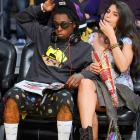 Weezy and an unidentified lady friend took in the clearly electrifying action between the Miami Heat and the Los Angeles Lakers at Staples Center.