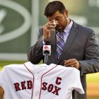 The former BoSox catcher reacts to the news that we've reached the end of this week's exciting gallery. Mr. Varitek was in the midst of announcing his retirement during a news conference at the team's spring training complex in Fort Myers, Florida.
