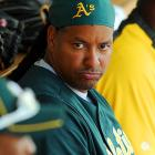 Continuing in our vein of springtime excitement, all everyone's favorite eccentric slugger can do is sit on his A's and await the end of his 50-game suspension for testing positive for banned elixirs.