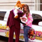 Foxy Bingo's Celebrity Mum Of The Year attracted the attention of at least one wolf at Renaissance Chancery Court Hotel in London.