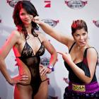 """The Sweet Science defined: Micaela (""""Miss Maxim Germany"""") Schafer and singer/actress Indira Weis were knockouts before they even stepped into the ring."""