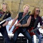 """Not to be outdone by those old farts Aerosmith, the venerable band that brought you the power ballad """"Sister Christian"""" way back in 1984 tuned up before the Auto Club 400 in Fontana, CA."""