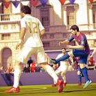 """FIFA Street is the latest iteration of EA's urban soccer series, and, while it's not as maniacally over-the-top as NBA Street, it manages to bring some worthy wrinkles of its own to the table. Teams compete not just for goals, but for """"style"""" points accrued by fancy footwork and opponent humiliation. The arenas are much smaller than the official FIFA game, with a much more visceral style of gameplay. The size of the goals vary widely, depending on whether you're playing on a basketball court or a rooftop in Japan, so every match plays a little differently. There are several different modes, including an awesome one which subtracts a player from your team with every goal you score. The game is made for multiplayer, and it's easy to imagine it being a big hit on frat house couches and online. It's not the deepest game, and surely won't take any purchases from FIFA 12 or PES, but it's enjoyable and approachable in areas where those titles can be more complex and intimidating.  Score: 7 out of 10"""