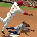 2K Sports' MLB series has struggled in recent years to compete with Sony's The Show, and this year's edition puts up a solid, if glitchy, game of hardball. Improvements from last year's game are subtle, with minor tweaks to an enjoyable set of play mechanics. The color commentary, in particular, is engaging and often eerily relevant. Still, the game is marred by persistent glitches: balls that teleport, animations that don't interrupt smoothly, an annoying grey box that sometimes won't go away in the batter-pitcher interface, play-by-play that's occasionally just wrong. Worst of all is the default fielding camera angle, which is too low and far from the action to gauge depth on hard-hit balls to midfield. Still, the pitching interface is consistently challenging and fun, scores seem mostly realistic and the game has enough variety with its online and offline modes to make it a worthy buy if you can't get The Show.  Score: 8 out of 10