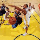 Dallas forward Dirk Nowitzki attempts a layup in a recent game against the Golden State Warriors.
