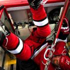 The Carolina Hurricanes, who failed to make the playoffs, discarded their underperforming players in convenient trash bins as soon as the final horn sounded on their disappointing season.