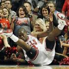 The Bulls' guard was quite a hit with the ladies during his NBA basketball game against the Miami Heat in Chicago on April 12.
