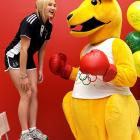 With less than 100 days to go until the 2012 Olympics in London, excitement is building for the much-anticipated middleweight bout between the Australian 2008 Olympic diving silver medallist and the big yellow marsupial.