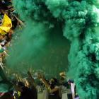 The Wicked Witch of the West materialized at the Portland Timbers game against Sporting KC in Oregon on April 21.