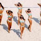 Let's hear it for the opening of swimwear season at the Swatch FIVB World Tour Beijing Grand Slam.