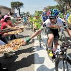 The fifth stage of the Tour of Italy cycling race, from Modena to Fano, is a piece of cake.