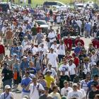 Fans at the Indy 500