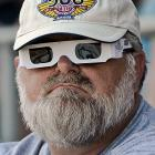 Race officials asked everyone to don their white sunglasses before the Indy 500 started as a tribute to Dan Wheldon.