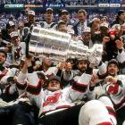 The Devils won their first Stanley Cup after a lockout-shortened 1994-95 season in which they took three of their four meetings with the defending champion Rangers, who fell to Philadelphia in the second round. New Jersey's Cup marked the beginning of a decade-plus in which the Devils would remain consistent contenders while the Rangers endured dry spells that included a seven-year stretch (1998 through 2004) without a playoff berth.