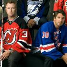 """As of the 2012 postseason, Rangers goalie Henrik Lundqvist held a dominating 23-7-5 record against Martin Brodeur, who has struggled against the Rangers since the Devils' first round playoff exit at their hands in 2008. In a March 2008  Sports Illustrated  story about the New York area's star goaltenders, Brodeur made it clear that he was not particularly impressed by his Ranger rival. """"The way he plays the game is not something I like too much,"""" Brodeur told SI's Michael Farber. """"Lundqvist is weird."""""""