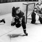 """Arriving in LA in 1970 after the Canadiens sold his rights to the Kings, Berry had a stellar breakout rookie campaign that saw him score 63 points in 73 games. He played six more seasons, scoring 350 points in 541 games and making two All-Star Game appearances for the Kings. A member of """"the Hot Line"""" with center Juha Widing and right wing Mike Corrigan, Berry went on to coach the team from 1978 to 1981."""