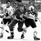 """Chosen in the 15th round of the 1975 NHL Draft, Taylor was a King for his entire career: 17 seasons and 1,111 games.  As the right wing on the explosive """"Triple Crown Line"""" with Marcel Dionne and Charlie Simmer, the five-time All-Star scored 431 goals with 638 assists, his 1,069 total points good for third on the Kings' all-time list. In 1991, he was awarded the Masterton Trophy for perseverance and dedication to hockey, as well as the King Clancy Trophy for leadership. After Taylor hung up his skates in 1994, the Kings retired his number 18 on April 3, 1995. He was hired as the team's GM in 1997 and spent nine seasons in the position."""