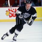 After winning four Stanley Cups with Wayne Gretzky in Edmonton, Kurri was reunited with Great One in LA in 1992 and they spent nearly five seasons together there. Though not as prolific offensively as he was with the Oilers, Kurri had a 60-assist, 87-point campaign for the Kings in '92-'93 when he and Gretzky led the Kings to the Cup final where they fell to Montreal. He was inducted into the Hockey Hall of Fame in 2001.