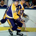 """Marcel Dionne may be the best NHL player who never won Lord Stanley's Cup. After arriving from Detroit in a 1971 trade, he spent 12 seasons with the Kings, compiling 550 goals and 757 assists for 1,307 points, good for the top spot on the franchise's all-time scoring list. With wingers Charlie Simmer and Dave Taylor, the eight-time All-Star was the backbone of the famed """"Triple Crown Line"""", one of the most dangerous scoring units in the history of the game. Dionne won the NHL scoring title for 1979-80 and was a two-time recipient of the Lady Byng Trophy for gentlemanly play. The Kings retired his number 16 on November 8, 1990, two years before his induction into the Hockey Hall of Fame."""
