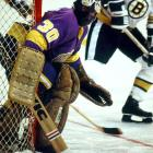 """The winner of the 1967-68 Vezina Trophy lost his starting gig in Montreal when Ken Dryden came along, so he was traded to LA in November 1971, giving the Kings one of their first big stars. """"Rogie"""" tended their net for seven seasons and is still the franchise's all-time wins leader, with 171.  He also compiled 32 shutouts and a 2.86 goals-against average during his time with Los Angeles, which retired his number 30."""