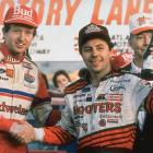 Alan Kulwicki (right), NASCAR's 1992 champion, was killed in a plane crash in Blountville, Tenn.