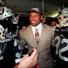 The second overall pick in the '97 NFL draft, Russell was killed when the car he was in crashed into a parked bus.