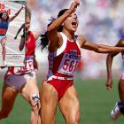 The world-famous track star died tragically of epilepsy at 38. Joyner still holds world records for both the 100 and 200 meters, with times that have not been seriously challenged. Joyner won three gold medals and one silver medal in the 1988 Seoul Olympics.