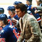 The 66-year-old former coach best known for leading the 1980 U.S. Olympic hockey team to the gold medal died in a single car accident. Police said they believe he fell asleep behind the wheel.