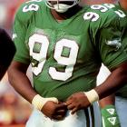 The two-time Pro Bowl defensive tackle for the Philadelphia Eagles died after losing control of his Corvette and crashing into a power pole in Brooksville, Fla. Brown was 27.