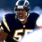 Junior Seau, a decorated 20-year NFL linebacker who retired in 2010, was pronounced dead in his Oceanside, Calif., home on May 2, in what police were calling an apparent suicide. His girlfriend discovered his body in bed that morning after she returned from the gym. Seau, who played for his hometown San Diego Chargers and the Miami Dolphins and New England Patriots, was voted to a Chargers-record 12 straight Pro Bowls and was an All-Pro six times.